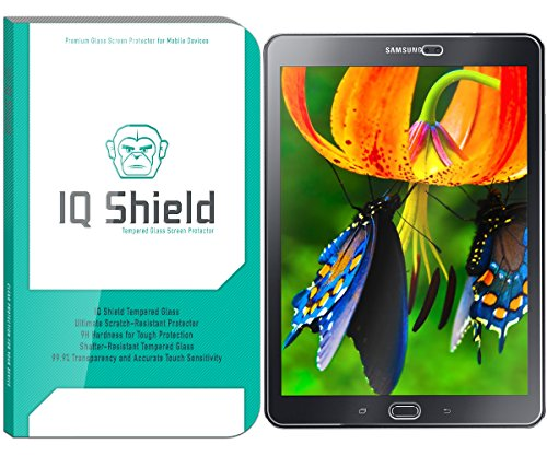 Samsung Galaxy Tab S2 8.0 Screen Protector, IQ Shield Tempered Ballistic Glass Screen Protector for Samsung Galaxy Tab S2 8.0 99.9% Transparent HD and Anti-Bubble Shield - with