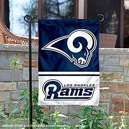 0e17d57979e Image Unavailable. Image not available for. Color  Wincraft Los Angeles  Rams Double Sided Garden Flag