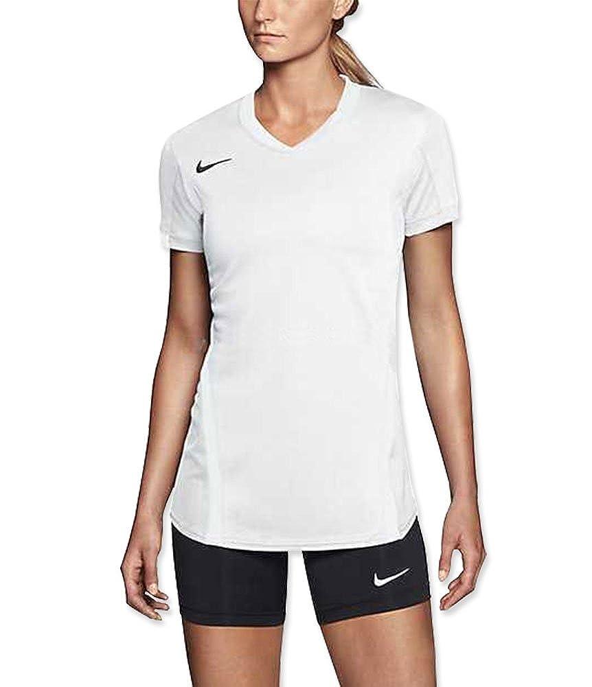 fd6681c2c3775 Amazon.com: Nike Women's Ace Short Sleeve Volleyball Jersey ...