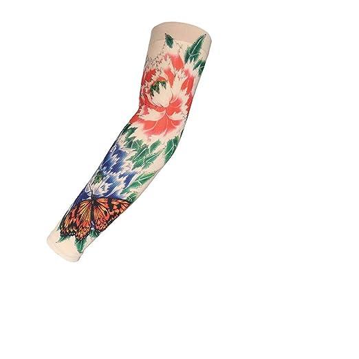 Mzqaxq Tattoo Sleeve Tatuaje Manga del Brazo Simular Tatuaje ...