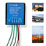 Ocamo Waterproof Corrosion Resistant Charge Controller for Wind Turbine Generator 400W