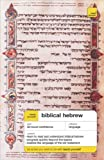 Teach Yourself Biblical Hebrew, Sarah Nicholson, 0071434623