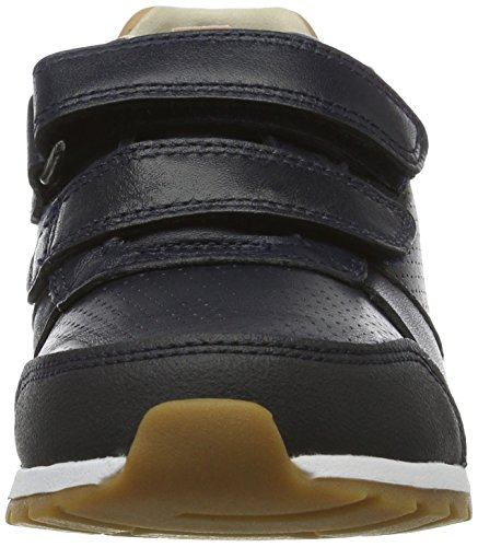 Clarks Zest Tex Inf, Zapatillas para Niños Azul (Navy Leather)