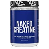 Pure Creatine Monohydrate – 200 Servings – 1,000 Grams, 2.2lb Bulk, Non-GMO, Gluten Free, Soy Free. Aid Muscle Growth & Strength Gains, No Artificial Ingredients – NAKED CREATINE For Sale