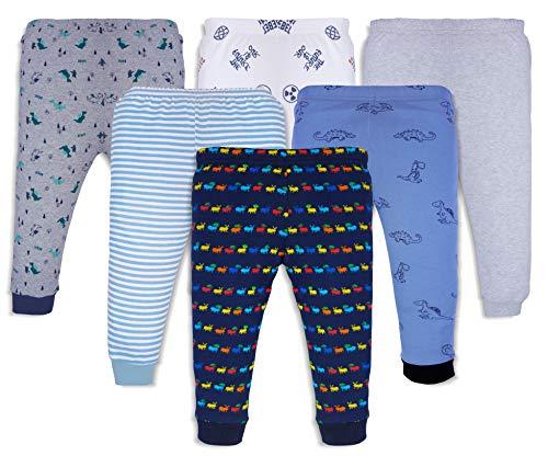 X2O Cotton Baby Pajama Pants with Rib (Unisex) (Multicolor) (Assorted Prints) Pants_003