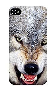 Flyinghouse Hot Tpye Angry Wolf Case Cover For Iphone 5/5s For Christmas Day's Gifts