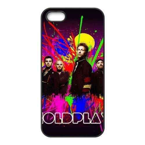 Coldplay 007 coque iPhone 4 4S cellulaire cas coque de téléphone cas téléphone cellulaire noir couvercle EEEXLKNBC24305