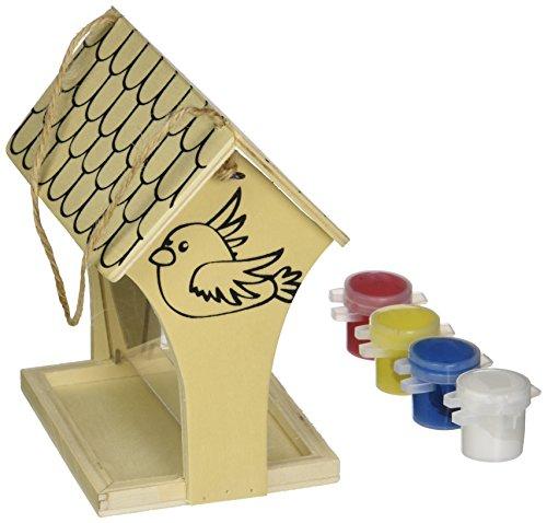 MasterPieces Works of Ahhh Silk Screened Bird Feeder Wood Paint -
