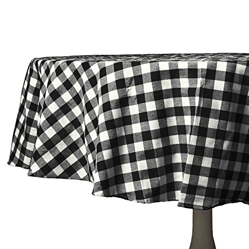 kered Kitchen/Dining Room Tablecloth: Gingham/Plaid Design, Cotton Rich (70