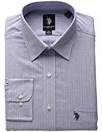 U.S. Polo Assn. Men's Blue with White and Red Stripe