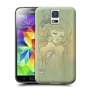 BreathePattern-Wood board art beauty03 Plastic Protective Case-Samsung Galaxy S5 case