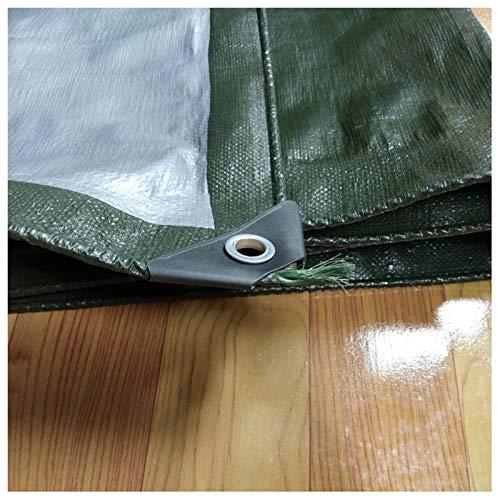 Telone impermeabile verde spessa copertura solare ad alta densità densità densità tessuto pioggia copertura tela cerata tela, giardinaggio campeggio all'aperto, multiuso, più dimensioni (dimensioni   4×7m) B07HN5CL3G Parent   In Linea Outlet Store    ce3354