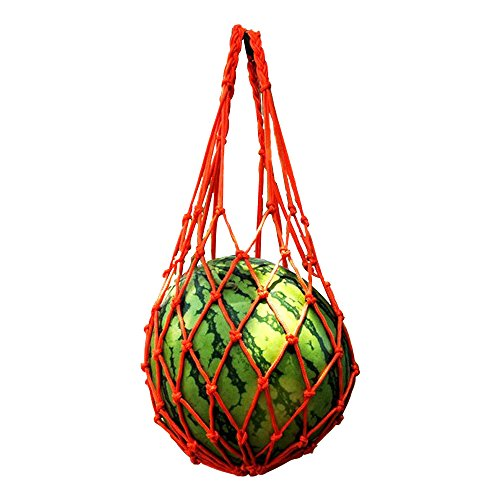 LSHCX Melon Hammocks Cradles, 5 Pack of Nets for Melons, Perfect for Growing Cantaloupe, Watermelon in Vertical ()