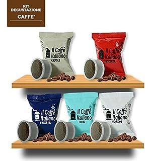 100 Cápsulas de Café compatibles Espresso Point - kit degustación de 100 cápsulas café compatibles con