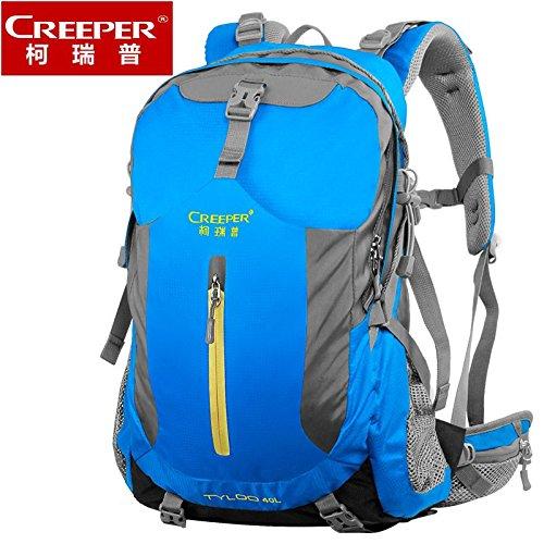 Wi&Lit Freien Bergsteigen Taschen Schulterbeutel, Reisewanderrucksackwasserdicht wear atmungs