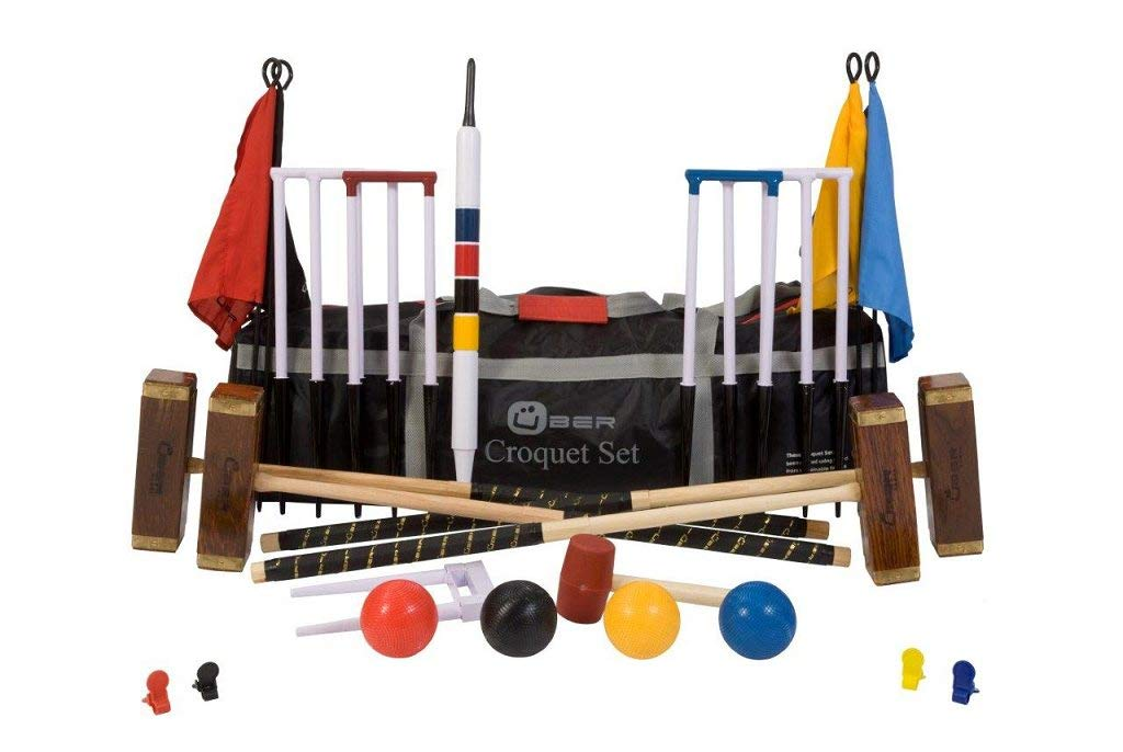 Uber 6 Championship 6 Player Croquet component Set Set with a component bag B073WT9KXY Parent, ゲロシ:e0e74549 --- m2cweb.com