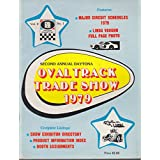 Daytona Oval Track Trade Show Program & Vendor Directory 1979 Linda Vaughn