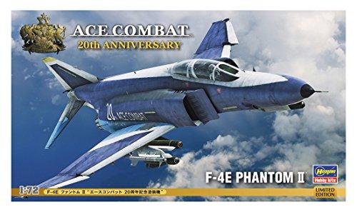 HAS52137 1:72 Hasegawa Ace Combat F-4E Phantom II 'Ace Combat 20th Anniversary' [MODEL BUILDING KIT]