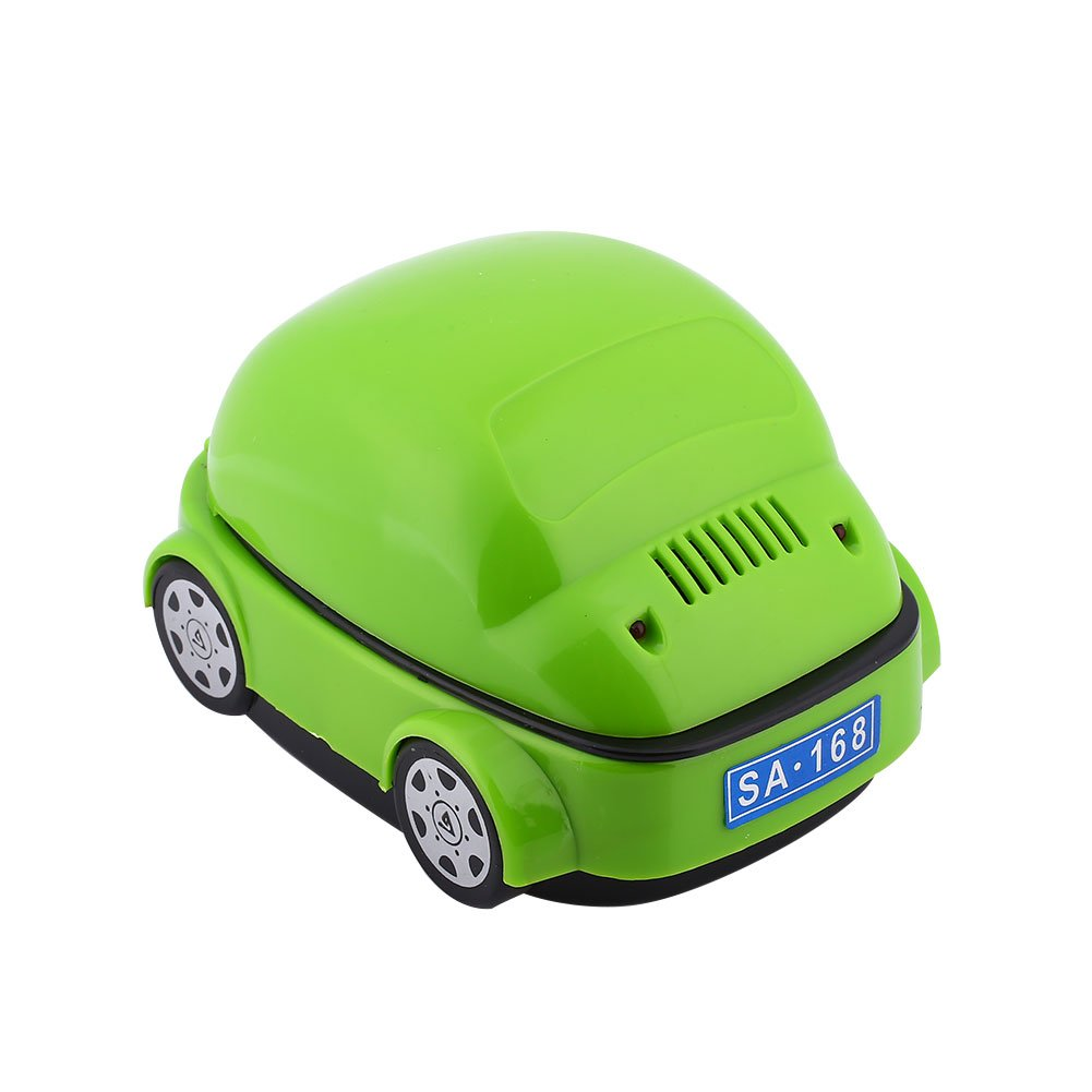 Leaftree Portable Ashtray Smoke Remover Car Shape Smokeless USB for Battery Decor