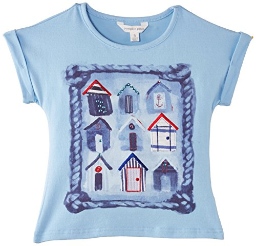 Pumpkin Patch Big Girls' Boat House Graphic T, Bluebell, 10