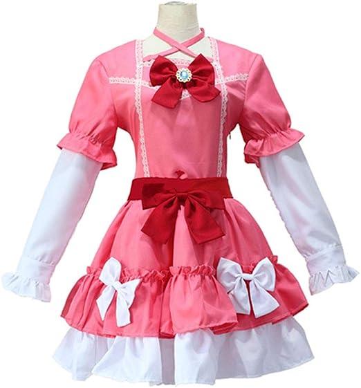 DXYQT Disfraz de Cosplay de Anime Lovely Loli Falda Corta Uniforme ...