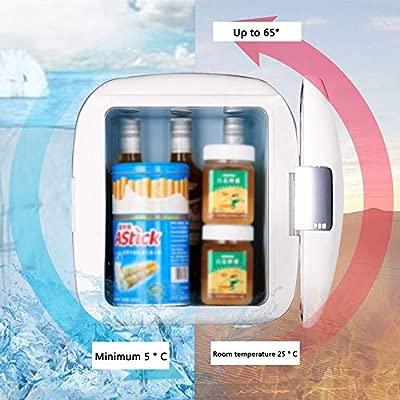 Mini Nevera El Refrigerador Blanco Del Coche 9L, Pequeño ...