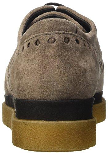 Manas Moena, Zapatos de Cordones Derby para Mujer Beige