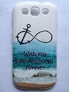 NANKY New Popular Funny Samsung Galaxy S3 Case, Forever Anchored, Infinity Samsung Galaxy S3 Cover, Samsung Galaxy S3 Cases, Galaxy S3 Case