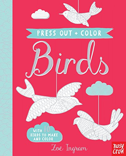 Press Out and Color Birds