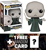 Lord Voldemort: Funko POP! x Harry Potter Vinyl Figure + 1 FREE Official Harry Potter Trading Card Bundle [58616]