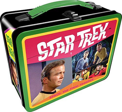 Star Trek Lunch - Aquarius Star Trek Retro Gen 2 Tin Storage Fun Box