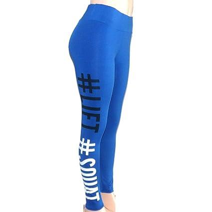 Amazon.com: Blue Stones Legging para Academia Mulheres ...