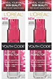serum for skin texture L'oreal Paris Youth Code Texture Perfector Serum, 1.0 Ounce, (Pack of 2)