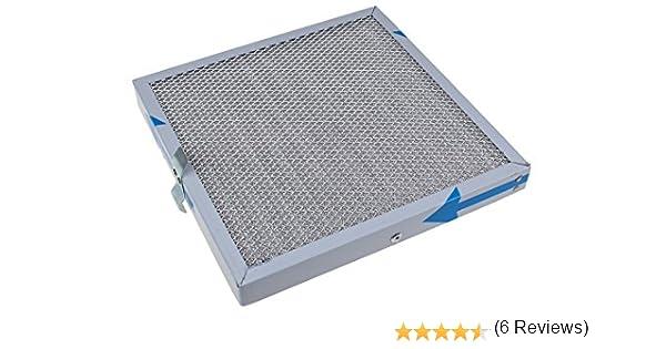 Novy - Filtro de grasa para campana extractora (24,5 x 24,5 x 2,5 cm): Amazon.es: Hogar
