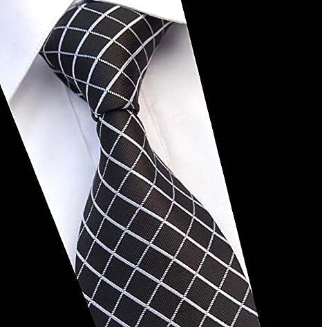 GENTLEE TIE Corbata de seda de alta calidad para hombres visten ...