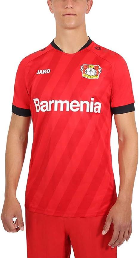 JAKO - Home, (Saison 19/20), Maglietta del Bayer 04 Leverkusen Unisex - Bambini