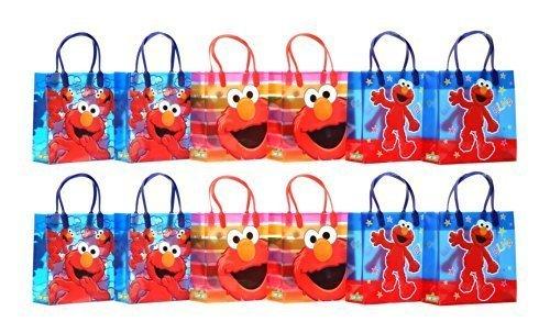 Sesame Street Elmo Party Favor Gift Bag - 8