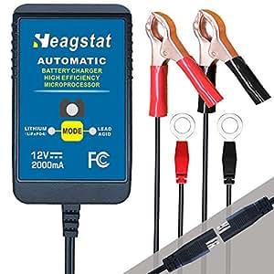 Amazon.com: Heagstat Trickle cargador de batería automático ...