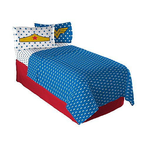 Warner Bros. Wonder Woman Twin Sheet Set