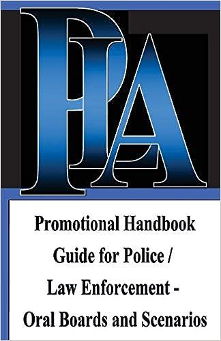PLA Law Enforcement Career & Promotion Guide, Baltimore