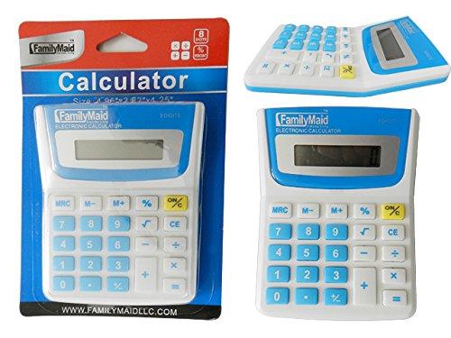 Calculator, 8 Digits Size: 4'' x 4.75'' , Case of 96