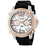 MULCO Women's MW2-28050S-021 Analog Display Swiss Quartz Black Watch