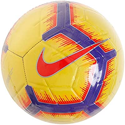 Nike Strike - Balón de fútbol, 3, Yellow/Purple/Chrimson: Amazon ...