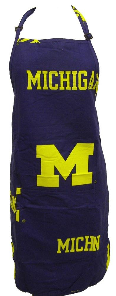 Michigan Logo Apron with Pocket