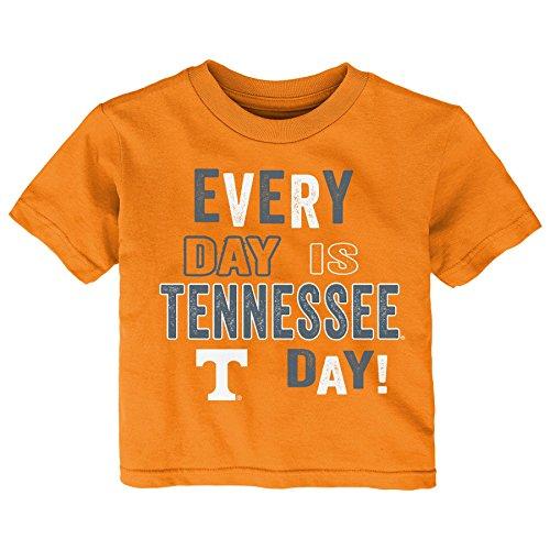 Gen 2 NCAA Tennessee Volunteers Toddler Everyday Short Sleeve Tee, 4T, Light Orange ()