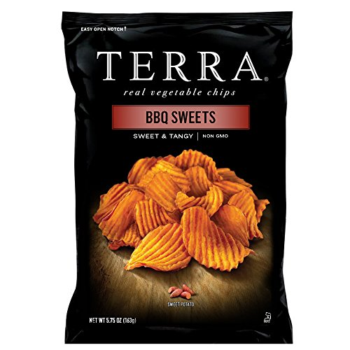 TERRA BBQ Sweet Potato Chips, 5.75 oz. (Pack of 12)