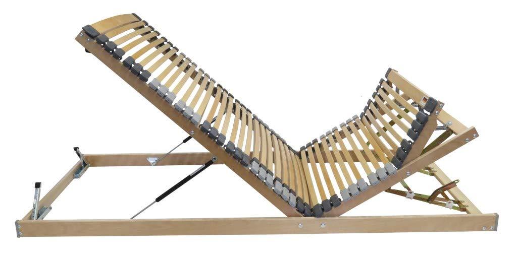 Perbix Hit-7-Zonen KRFG - Lattenrost m. KRFG + Bettkasten, 120x200 cm