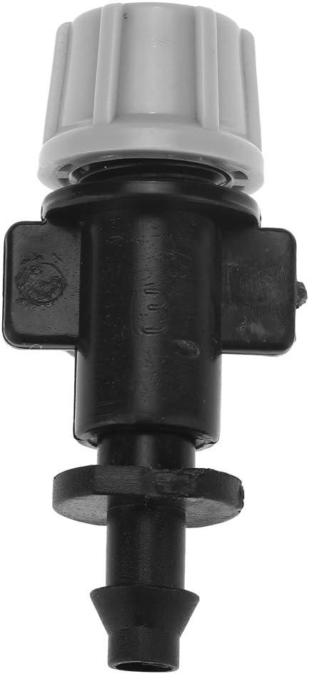 50 pezzi//set ugelli nebulizzatori testa spruzzatore atomizzatore per giardino sistema di irrigazione a goccia per tubo 4mm//7mm diametro interno//esterno
