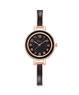 for Lvpai Watch,Siviki New Women's Mesh Band Watch Rose Gold Stainless Steel Adjustable Strap (Multicolor B)