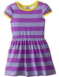 Baby Girls' Purple Striped Knit Dress